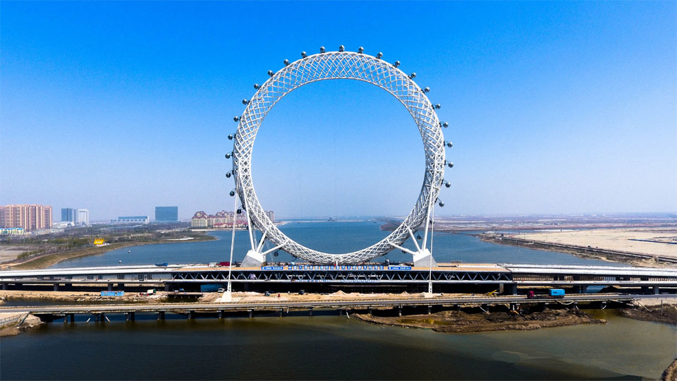 Ferris Wheel 145m in Weifang