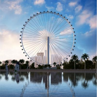 120m Observation Wheel with Panoramic Capsule