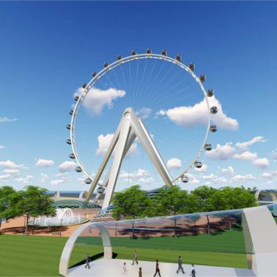 128m Ferris Wheel with Customized Capsule