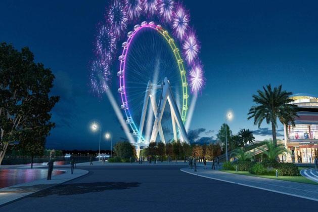 128m Ferris Wheel The Glory of Shenzhen