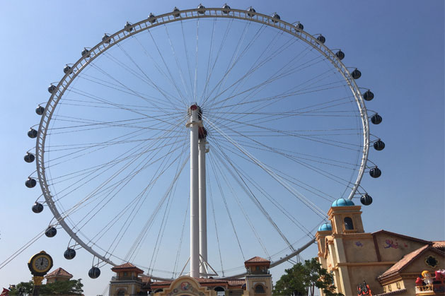 99 Meters Ferris Wheel In Shunde