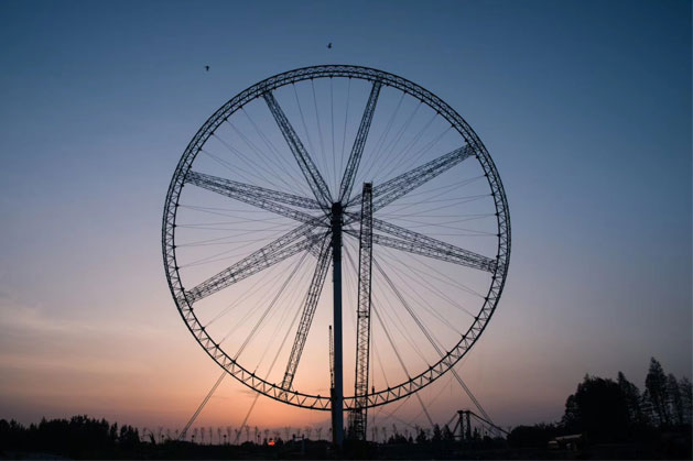 Ferris Wheel 133m in Wuhu