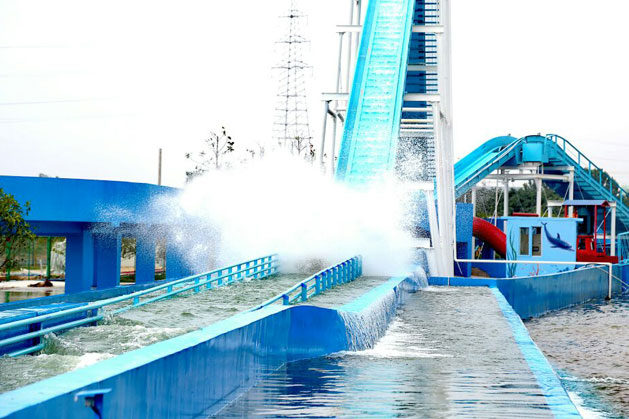 Flume Ride in Beijing, China