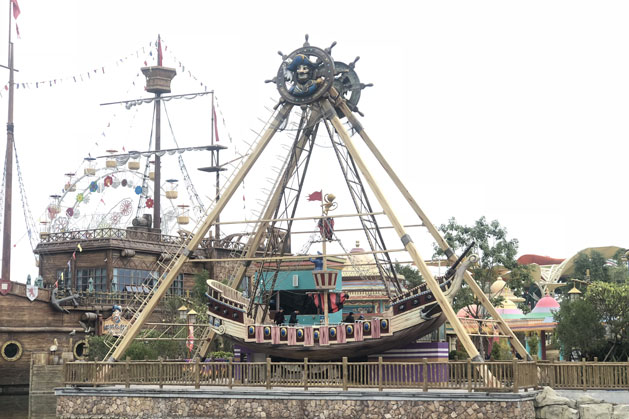 The Pirate Boat in Guangzhou, China