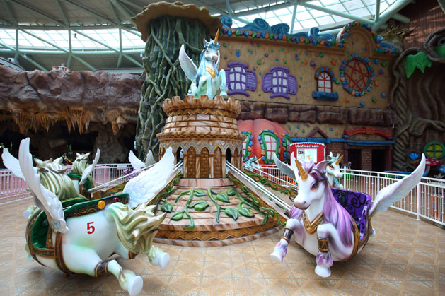 The Carousel in Shaoxing, China