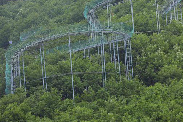 The Alpine Coaster in Henan, China