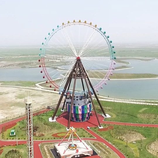 Ferris Wheel 102m in Dafeng