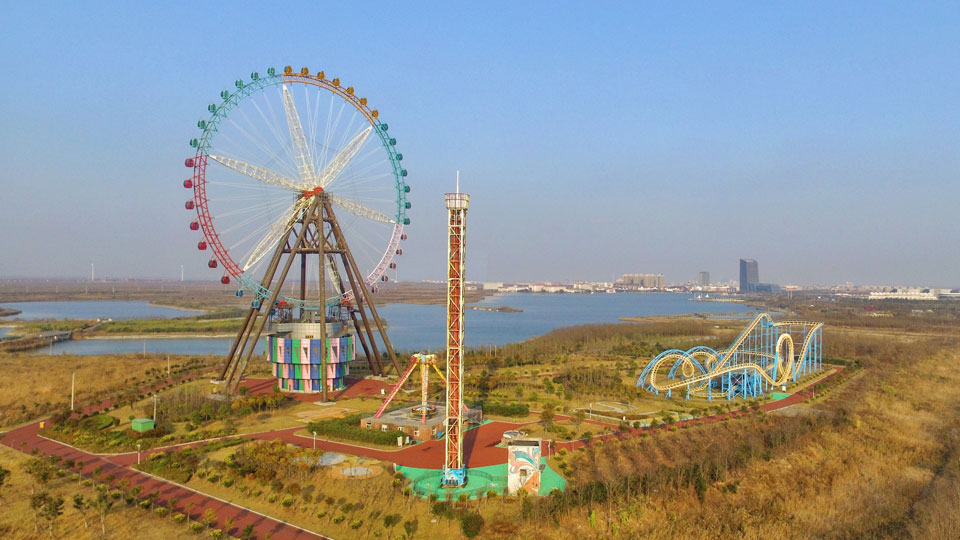 102m Ferris Wheel in Dafeng