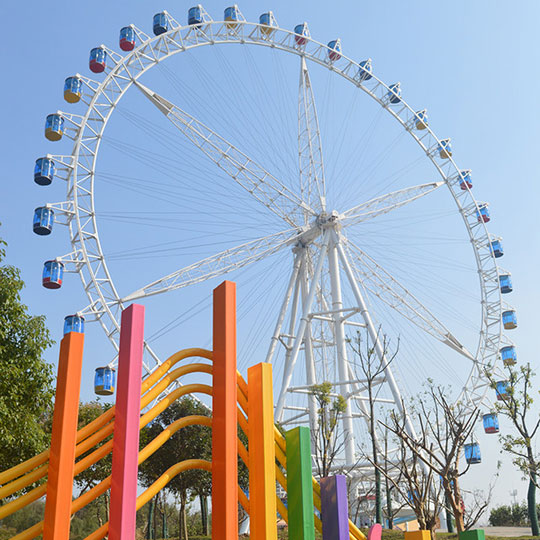 Ferris Wheel 88m in Zhenjiang